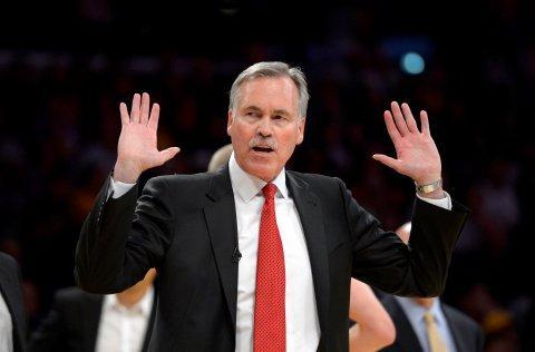 Rockets coach Mike D'Antoni worked with Warriors coach Steve Kerr in Phoenix. (AP Photo/Mark J. Terrill)