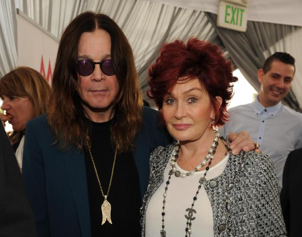 From let, Ozzy Osbourne and Sharon Osbourne attend ASCAP Presents The 2014 Grammy Nominee Brunch, at the SLS Hotel at Beverly Hills on Saturday, January 25, 2014 in Beverly Hills, Calif. (Photo by Frank Micelotta/Invision for ASCAP/AP)