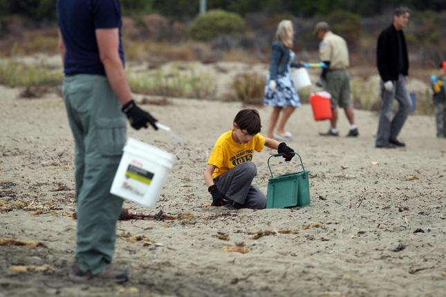 LIST: Belmont, San Mateo County Locations for Coastal Cleanup Day