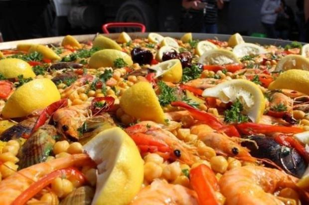submitted photoDelicious paella benefits the PRC.