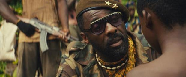 Idris Elba as Commandant in 'Beasts of No Nation.' (Netflix)