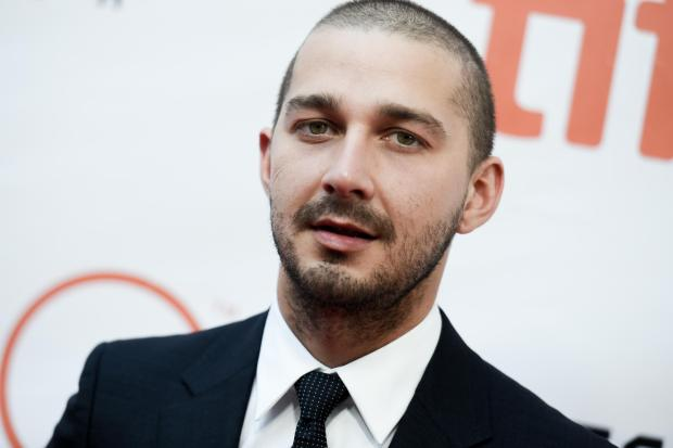 "Shia LaBeouf attends a premiere for ""Man Down"" on day 6 of the Toronto International Film Festival at Roy Thomson Hall on Tuesday, Sept. 15, 2015, in Toronto."
