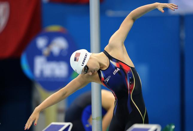 Stanford swimmer Katie Ledecky wins Honda Cup