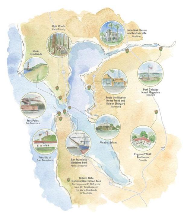 一日游:探索湾区的10个(!)国家公园
