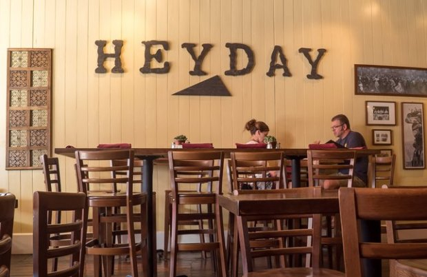 Placerville's Heyday Café celebrates the city's Gold Rush past in a building that dates back to the 1850s. (Photo courtesy Jon Orlin)