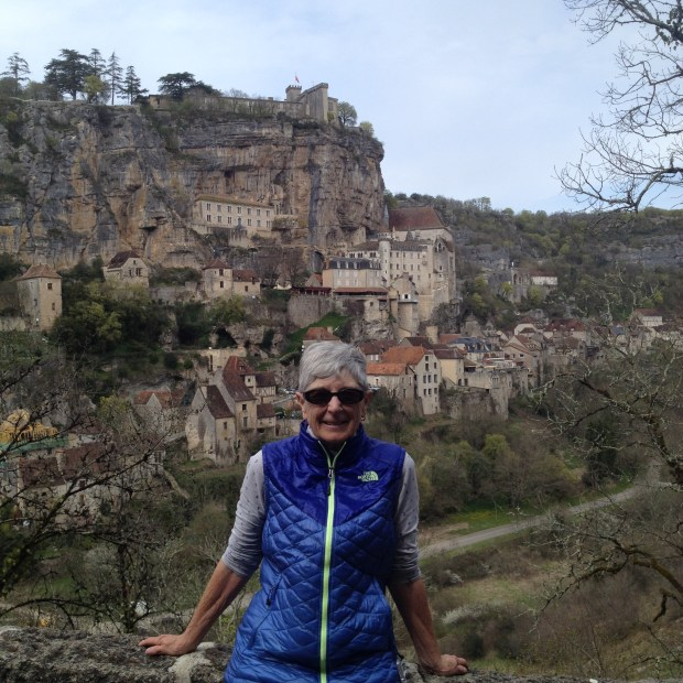 Courtesy Brooke Taylor FRANCE: Walnut Creek resident Brooke Taylor walked the Chemin de St. Jacques — or Camino de Santiago — last year on a trek that included a stop at the small village of Rocamadour, pictured.