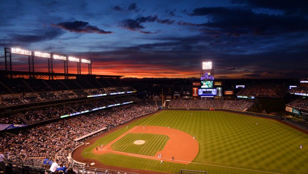 A general view of Coors Field during the Colorado Rockies v the San Francisco Giants at Coors Field on September 7, 2016 in Denver, Colorado. (Photo by Bart Young/Getty Images)