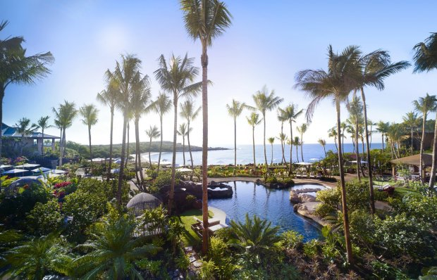 The Four Seasons Lanai reopened in February after a massive renovation that turned the luxury hotel into an even more luxurious resort. (Four Seasons Lanai)