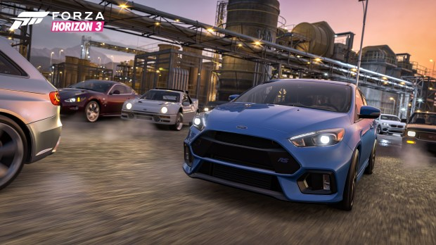 With Forza Horizon 3 Xbox One Racing Series Sets Its