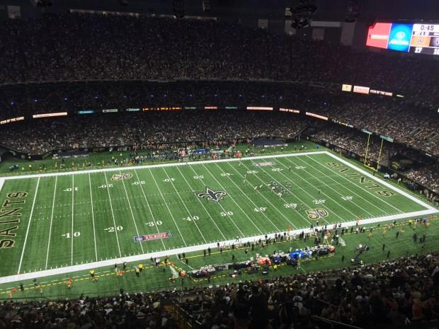 Mercedes-Benz Superdome, Raiders vs. Saints
