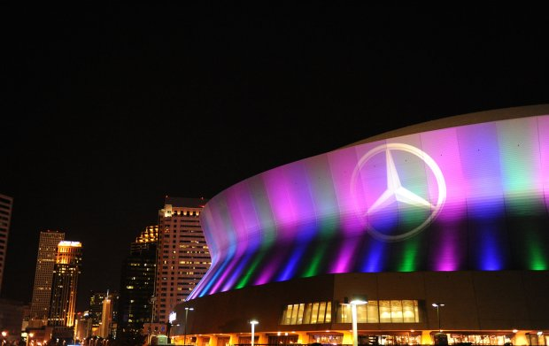 Merceds-Benz Superdome in New Orleans