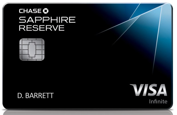 This photo provided by JPMorgan Chase shows a likeness of the bank's newest credit card, the The card has become the hottest credit card on the market after being available only two weeks, to the point of running out of the metal cards used to make it. (JPMorgan Chase via AP)