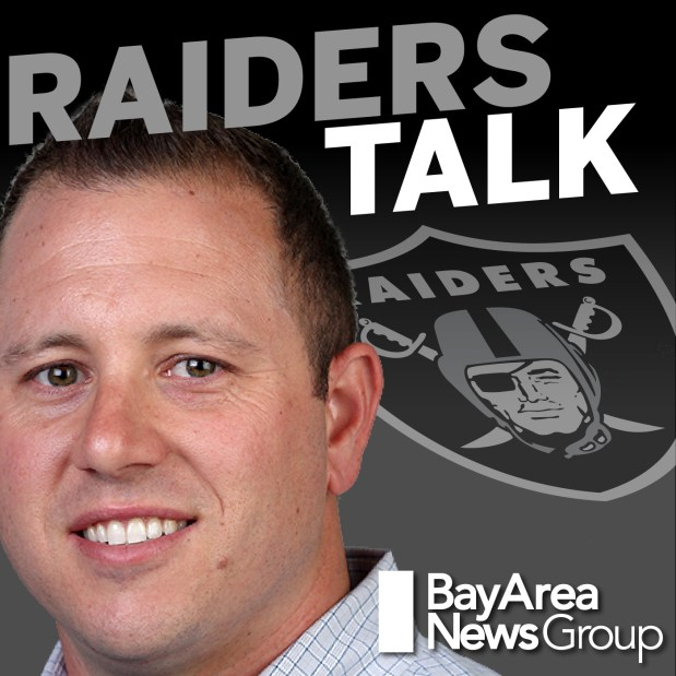 """Jimmy Durkin is the host of the Bay Area News Group's """"Raiders Talk"""" podcast."""