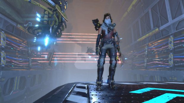"""""""ReCore"""" stars Joule Adams who has to figure out what happened after she wakes up in Far Eden, a planet where robots have run amok."""