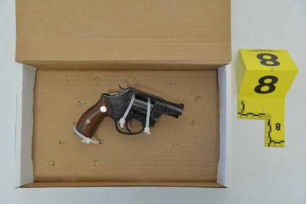 Pictured is a revolver the Santa Clara County Sheriff's Office said a Saratoga man raised at a deputy who fatally shot the man at a Titus Avenue home on Sept. 12, 2016.