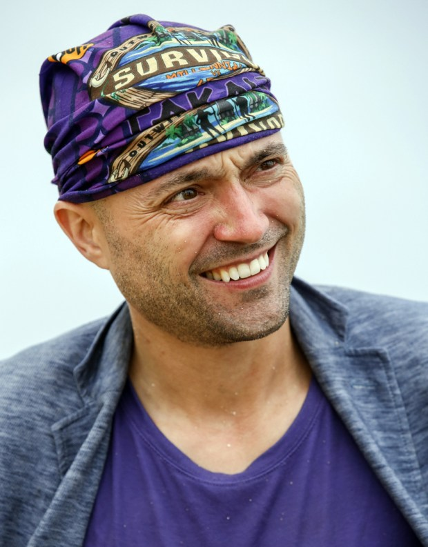David Wright on SURVIVOR: Millennials vs. Gen. X, when the Emmy Award-winning series returns for its 33rd season with a special 90-minute premiere, Wednesday, Sept. 21 (8:00-9:30 PM, ET/PT) on the CBS Television Network. Photo: Robert Voets/CBS Entertainment Ì?å©2016 CBS Broadcasting, Inc. All Rights Reserved.