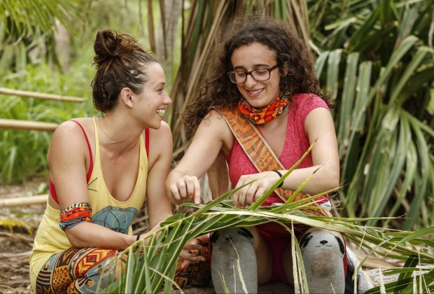Michelle Schubert and Hannah Shapiro on SURVIVOR: Millennials vs. Gen. X, when the Emmy Award-winning series returns for its 33rd season with a special 90-minute premiere, Wednesday, Sept. 21 (8:00-9:30 PM, ET/PT) on the CBS Television Network. Photo: Robert Voets/CBS Entertainment ©2016 CBS Broadcasting, Inc. All Rights Reserved.