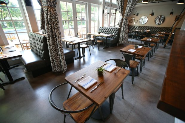 The dining room is photographed at Almanac on Thursday, Sept. 1, 2016, in Danville, Calif. (Aric Crabb/Bay Area News Group)