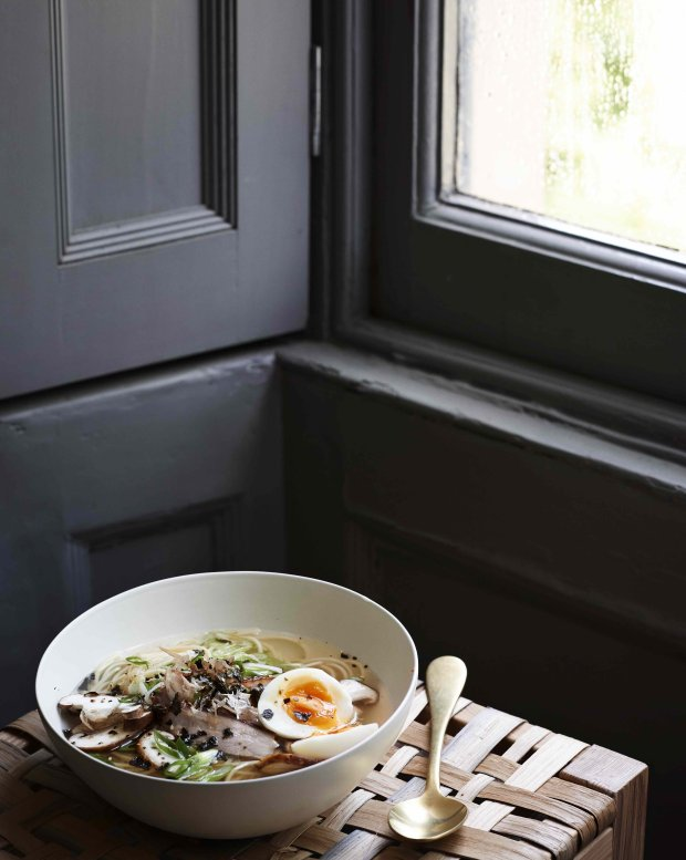 "Miso Ramen from Gwyneth Paltrow's ""It's All Easy."" Photo credit: Courtesy of Ditte Isager"