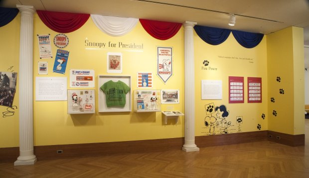 "Santa Rosa's Schulz Museum is going patriotic this fall with a ""Mr. Schulz Goes to Washington"" exhibit that highlights Snoopy's letters to the White House, presidential pets and more. The exhibit runs through Inauguration Day. (Photo: Charles M. Schulz Museum and Research Center)"