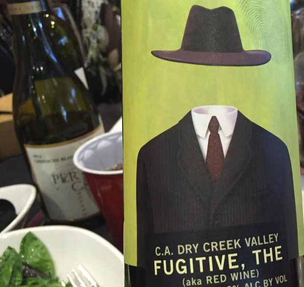 Halloween wine: Truett Hurst's The Fugitive. Photo credit: Mary Orlin/Staff