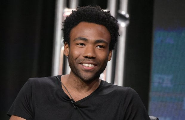 """Donald Glover participates in the """"Atlanta"""" panel during the FX Television Critics Association summer press tour on Tuesday, Aug. 9, 2016, in Beverly Hills, Calif. (Photo by Richard Shotwell/Invision/AP)"""