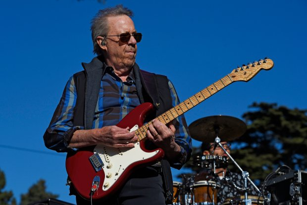 Boz Scaggs performs on stage during the Hardly Strictly Bluegrass music festival at Golden Gate Park in San Francisco, Calif., on Friday, Sept. 30, 2016. (Jose Fajardo/Bay Area News Group)