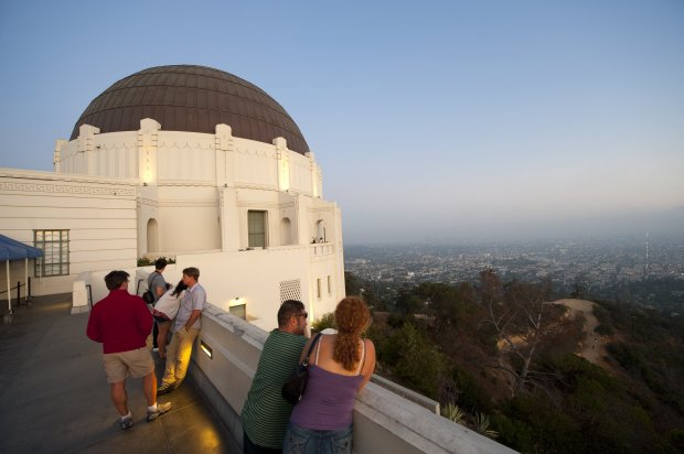 With its stellar educational sights and free admission, Los Angeles' Griffith Observatory is a beloved institution for Los Angelenos andtourists alike. Greet the day with a sunrise hike to the observatory, then grab breakfast at one of the neighborhood coffeehouses. (Photo: Visit California/Hub)