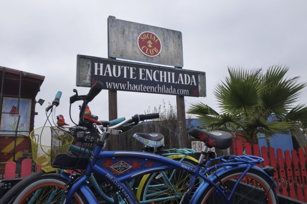 Hike Elkhorn Slough and you can cap off the afternoon with lunch or dinner at Haute Enchilada, Moss Landing's colorful Mexican restaurant. (Photo courtesy of Alice Bourget)