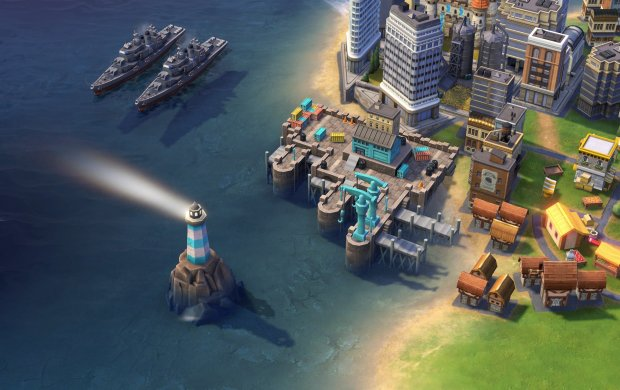 "The Royal Navy Dockyard is a building that's unique to the British in ""Sid Meier's Civilization VI."""
