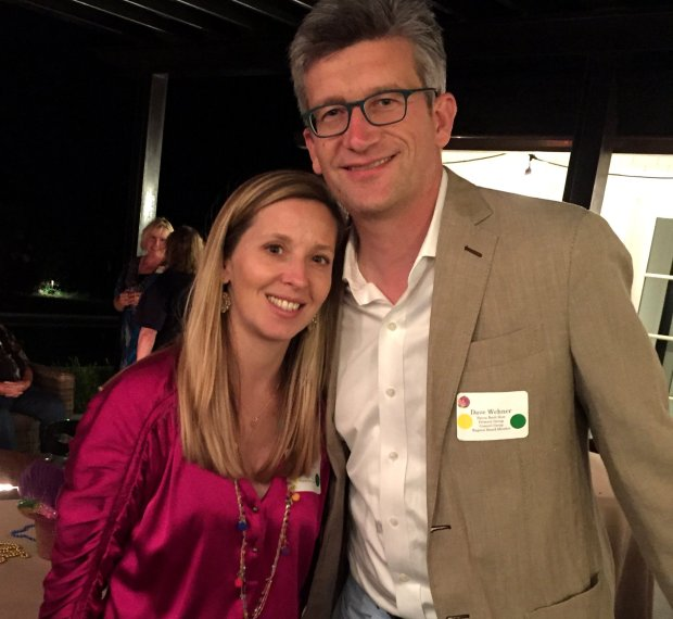 Carla Befera / Ragazzi Gabriela, left, and Dave Wehner were hosts of the Ragazzi Bayou Bash on Saturday, Oct. 1, 2016, a fundraiser for the Ragazzi Boys Chorus.