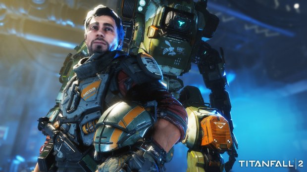 "In ""Titanfall 2,"" players take on the role of Jack Cooper, a rifleman who is given control of BT 7274, a vanguard class titan, after its pilot dies. (Electronic Arts)"
