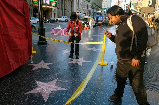 Donald Trump's Hollywood star destroyed