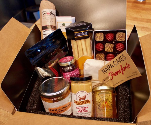 Atelier by JCB Gourmand club membership gift box is chock-full of artisan gourmet goodies. Photo credit: Courtesy of Atelier by JCB.