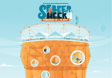 SF Beer Week returns to the Bay Area Feb. 10-19, 2017. (Credit: SF Beer Week)
