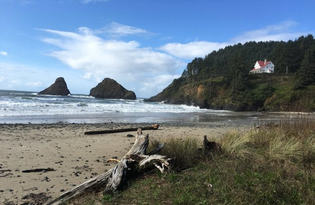 The Heceta Head Lighthouse on the central Oregon coast is less than a half hour's drive south of Yachats. (Lisa Wrenn/Bay Area News Group)