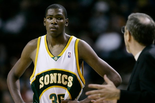 fcf0a06b366f Warriors  Kevin Durant argues for Sonics  return to Seattle