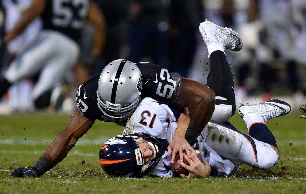 Raiders' Khalil Mack is AFC defensive player of the week