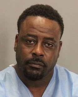 James Lamont Siordia, 40, of San Jose, is suspected of assaulting Tim Cheesman, 48, of San Jose, who later died of his injuries, according to the San Jose Police Department. (Courtesy of the San Jose Police Department)
