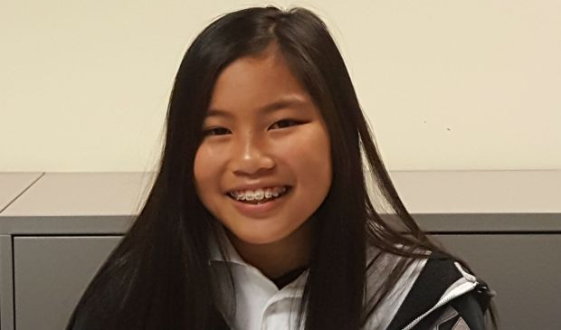 Mekyla Basconcillo, a seventh-grader at Robertson Intermediate School in Daly City, is one of 75 national winners of a nearly $3,000 annual scholarship awarded by the Hank Aaron Foundation to allow students ages 10 to 16 to chase their dreams. (Courtesy Cardinal Education)