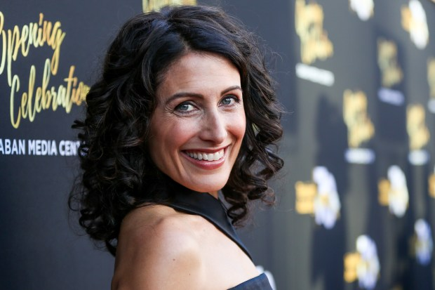 Lisa Edelstein arrives at the Television Academy's 70th Anniversary at The Television Academy on Thursday, June 2, 2016, in Los Angeles. (Photo by Rich Fury/Invision/AP)
