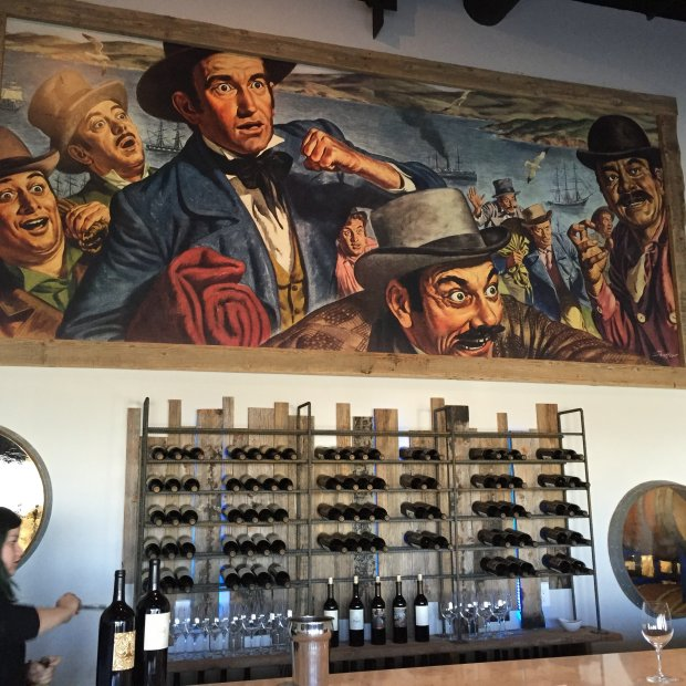 The Paydirt Wines tasting room in Paso Robles.Photo credit: Mary Orlin/Bay Area News Group