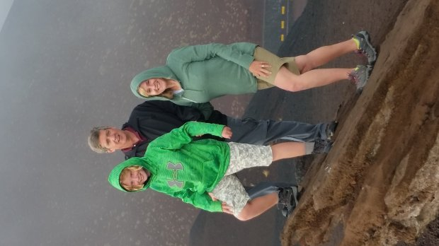 ITALY: On a recent trip to Sicily, Walnut Creek residents Natalie, Tom andSusan Paradiso paused for pictures 7,000 feet up Mount Etna. (Courtesy of the Paradiso Family)
