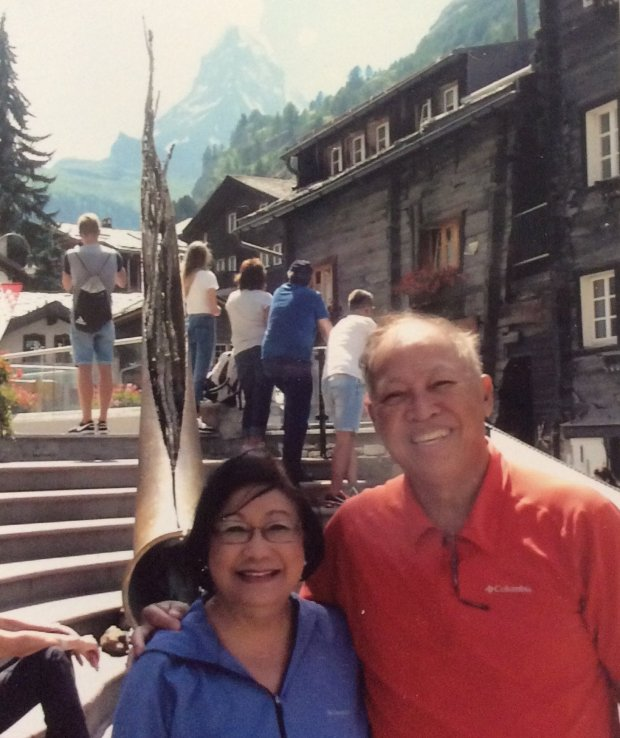 SWITZERLAND: Concord residents Beatriz and Eduardo Reyes' two-week trip toSwitzerland included stops in Interlaken, Davos, St. Moritz and Bern, as well as several Alpine villages. (Courtesy of the Reyes Family)