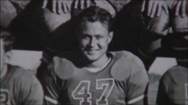 Jack Galvin in his 1941 San Jose State uniform