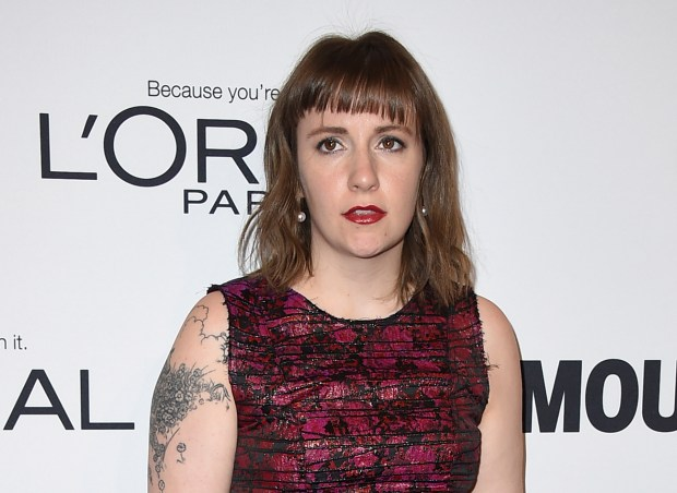 "FILE - In this Monday, Nov. 14, 2016, file photo, Lena Dunham arrives at the Glamour Women of the Year Awards at NeueHouse Hollywood in Los Angeles. Dunham apologized Tuesday, Dec. 20, 2016, for saying on her ""Women of the Hour"" podcast that that she wished she had an abortion. (Photo by Jordan Strauss/Invision/AP, File)"