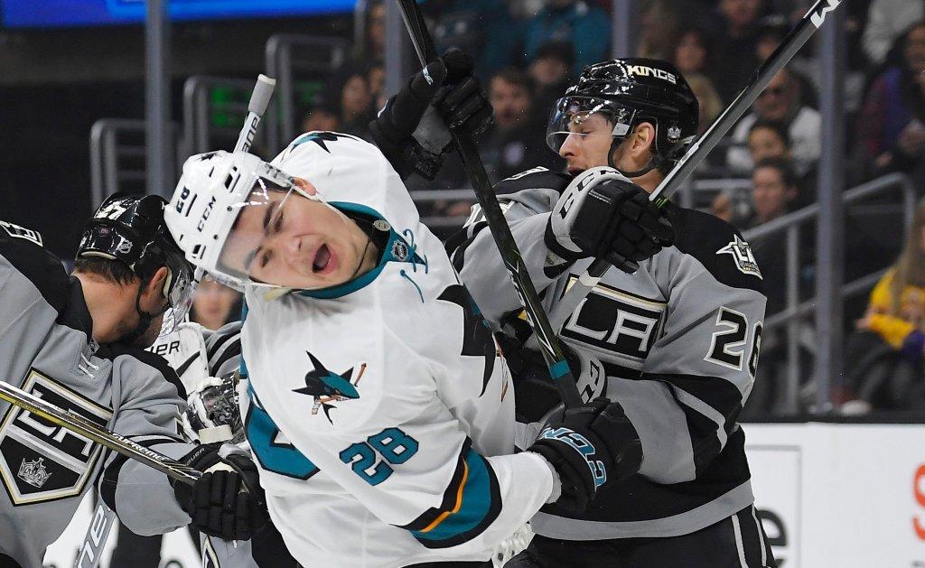 San Jose Sharks Rookie Timo Meier Learning Nhl Life