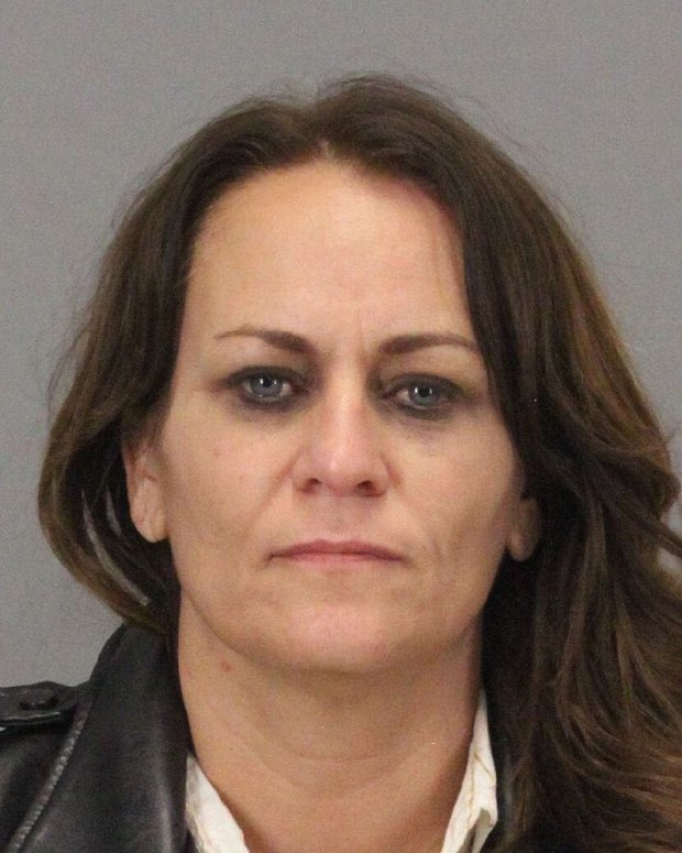 Leah Kaye Costa, 45, of Sunol, was arrested on Dec. 23 on charges including identity theft after being found in possession of a U.S. Postal Service master key and stolen mail, according to police. (Courtesy of Milpitas Police Department)
