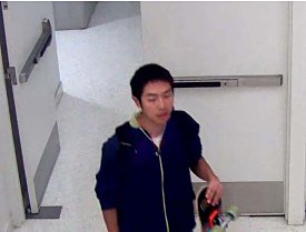 Police are looking for this man, who is suspected of sexually battering a woman in the Student Union at San Jose State University on Monday. (Courtesy of the San Jose State University Police Department)
