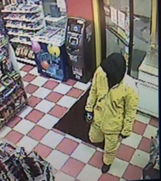 Screenshot of surveillance video showing the suspect inside the store. (Shasta County Sheriff's Office Screenshot)